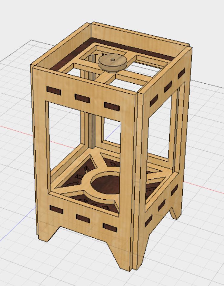 Design (parametric Model Made In Fusion 360):