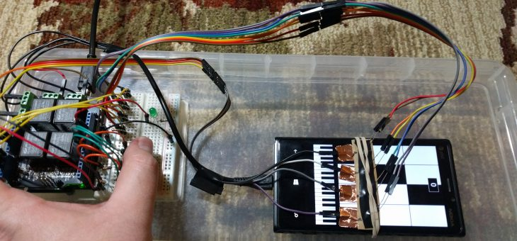 Piano Tiles – Arduino Hack