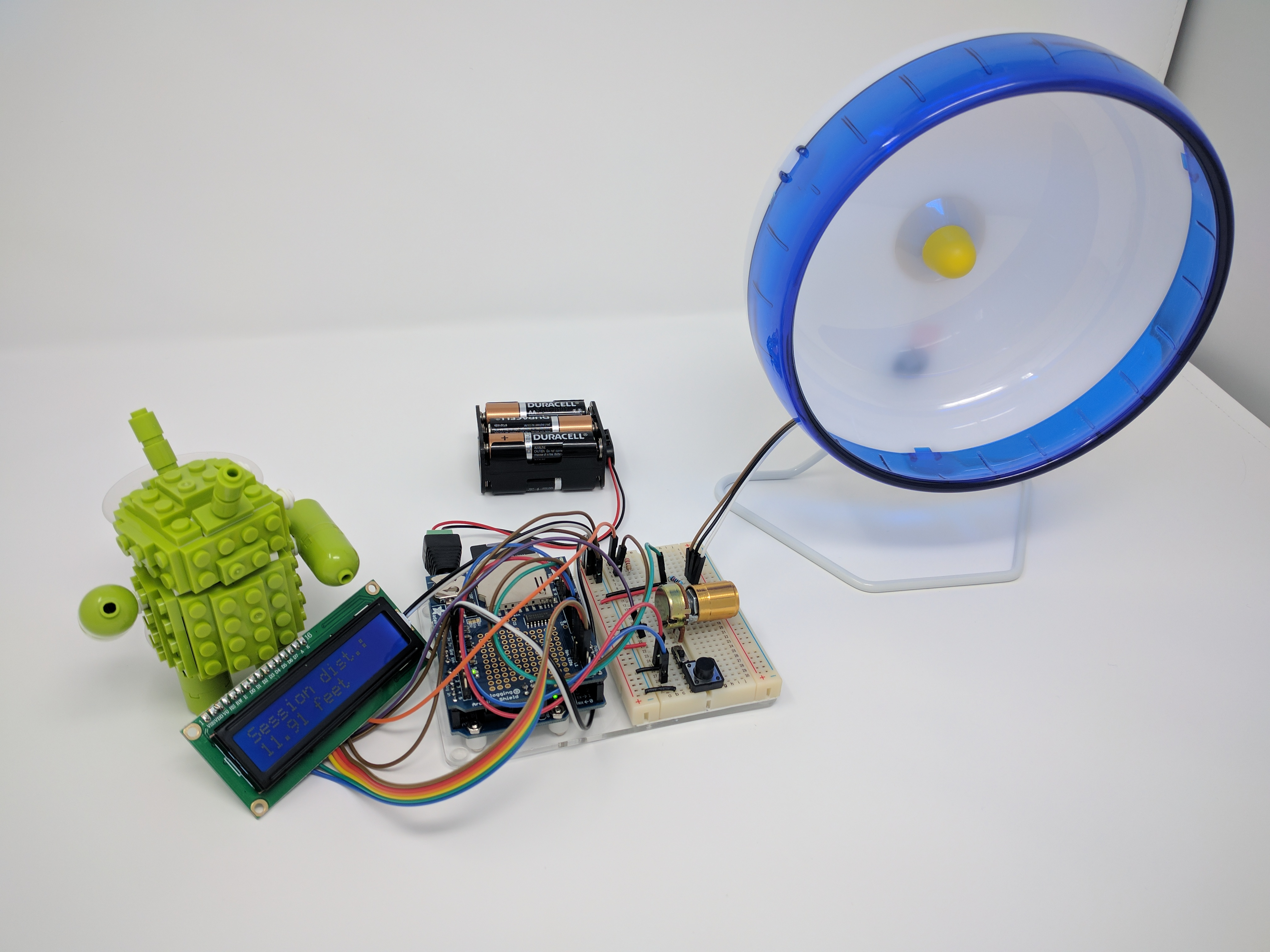 Hamster Wheel – IoT Tracker w/Twitter integration – Bogdan Berg