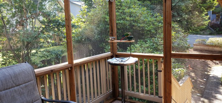 Porch Aviary